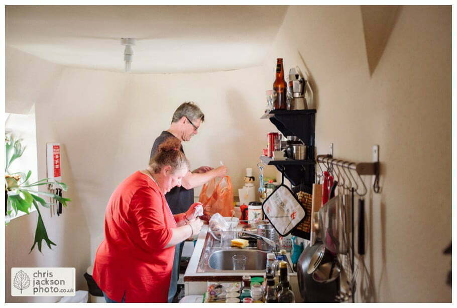 mother of bride father of bride family documentary bride preparations bridal york wedding photographer chris and hazel wedding photography