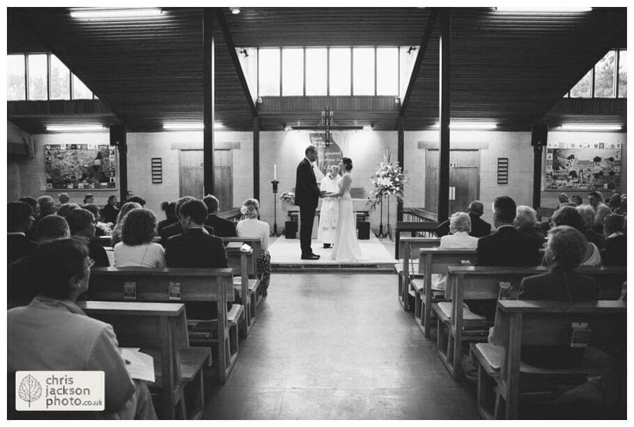 bride groom wedding ceremony alter york heslington church wedding day weddings documentary york wedding photographer chris and hazel wedding photography