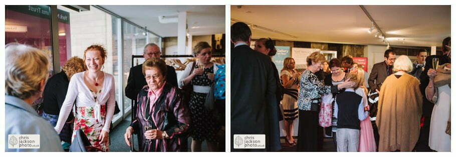 guests friends family wedding venue york castle museum wedding photography wedding photographer York chris & hazel wedding photography