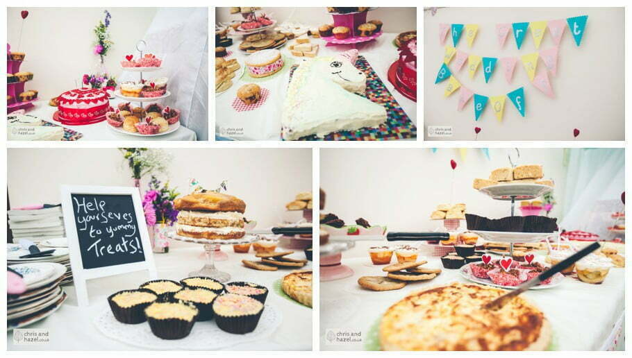great british bake off at wedding baking competition diy vintage wedding table afternoon tea wedding breakfast The venue at Wimberry hill wedding day diy vintage wedding glossop The venue at wimberry hill glossop wedding photography by Glossop wedding photographers chris and hazel natasha thorley jake rowarth