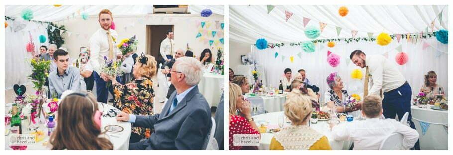 best man wedding speech inside The venue at Wimberry hill wedding day diy vintage wedding glossop The venue at wimberry hill glossop wedding photography by Glossop wedding photographers chris and hazel natasha thorley jake rowarth