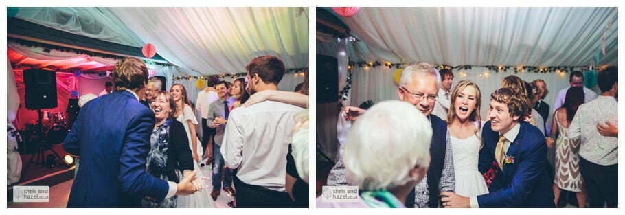 guests dancing on LED dance floor evening reception dancing wedding party inside The venue at Wimberry hill wedding day diy vintage wedding glossop The venue at wimberry hill glossop wedding photography by Glossop wedding photographers chris and hazel natasha thorley jake rowarth