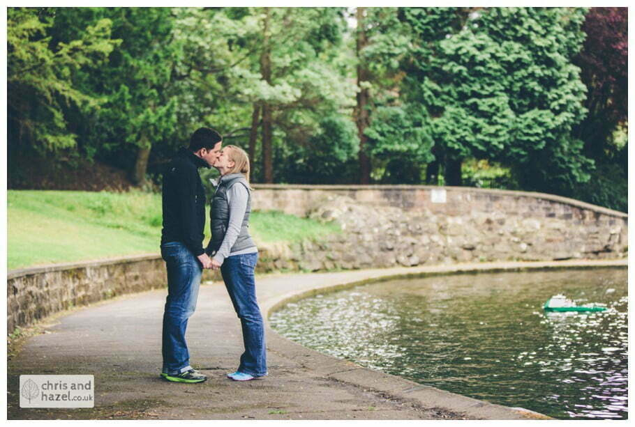Harrogate couple portrait photography wedding photographer valley gardens yorkshire wedding photographer chris and hazel