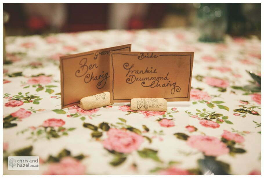 bride and groom name cards place cards ben charig frankie drummond merchant adventurers hall york wedding photography bride and groom christmas wedding winter chris and hazel wedding photography york