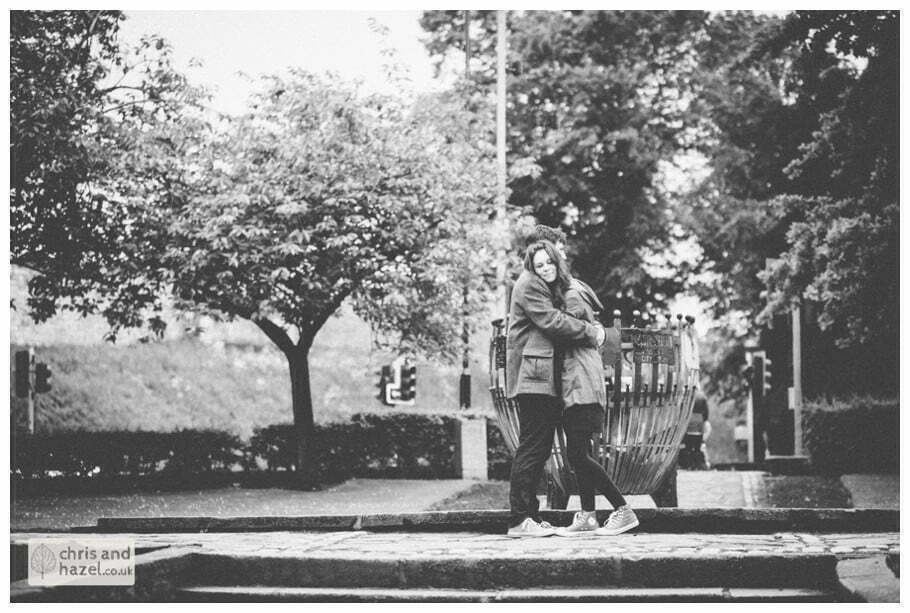 Memorial gardens couple Engagement photography memorial gardens pre wedding photographer york city centre chris and hazel wedding photography jonny dunn stef brown