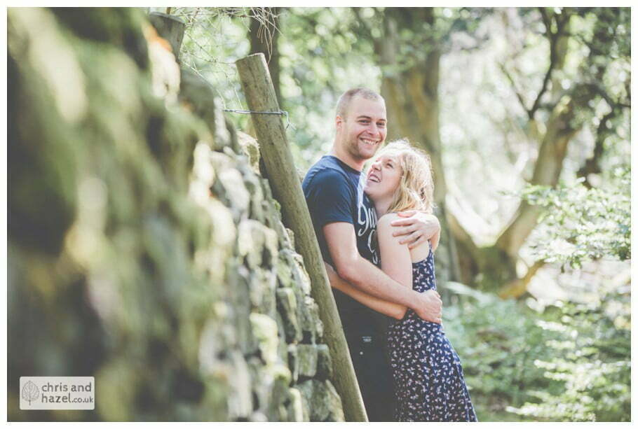 Peak District pre wedding photographer engagement session photography derbyshire Glen Briddock Emily Shaw