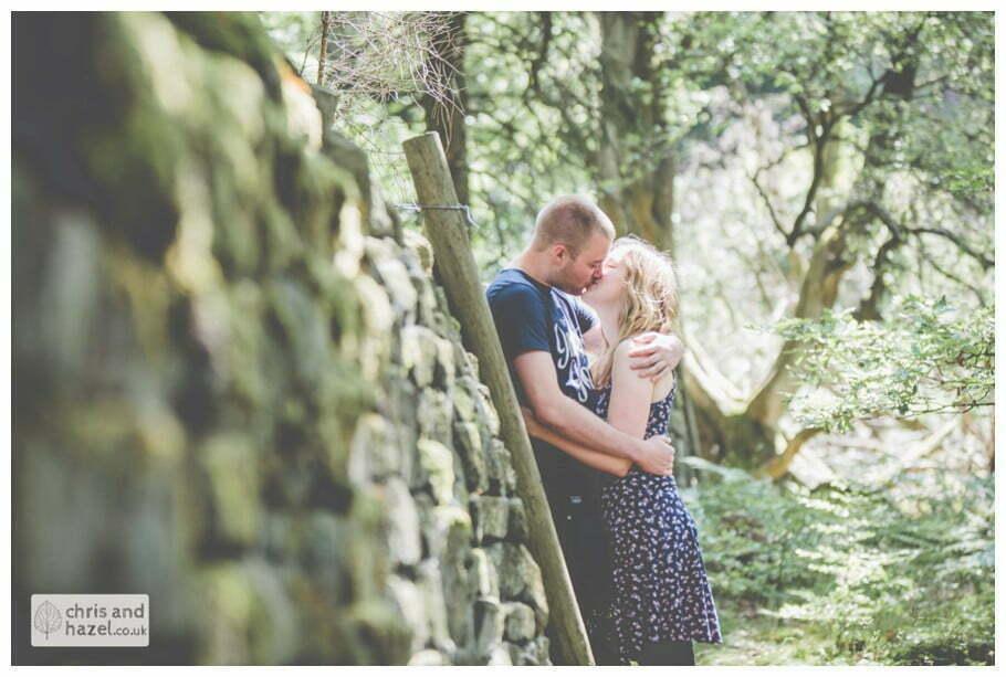 Peak District pre wedding photographer engagement session photography derbyshire Glen Briddock Emily Shaw