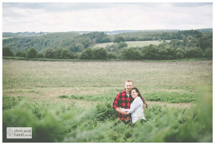 old fallen tree pre wedding engagement Levisham Wedding Photographer Yorkshire Wedding Photography North Yorkshire by Chris and Hazel Wedding Photography Ross Laurelin Matulis