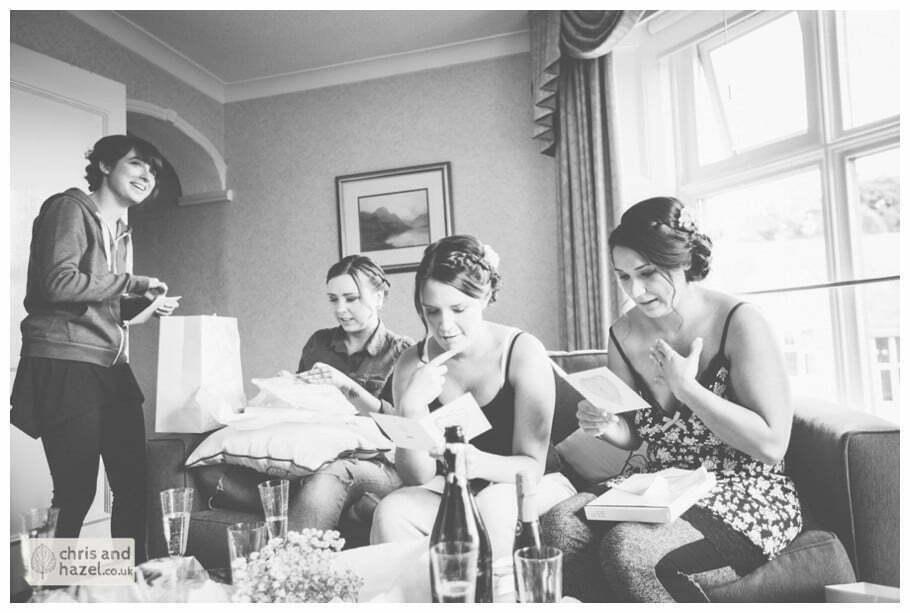 Bridal preparations documentary Sheffield Wedding Photographer Kenwood Hall Wedding Photography Sheffield by Chris and Hazel Wedding Photography Glen Briddock Emily Shaw