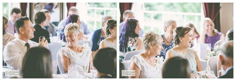 wedding speeches reaction documentary Sheffield Wedding Photographer Kenwood Hall Wedding Photography Sheffield by Chris and Hazel Wedding Photography Glen Briddock Emily Shaw