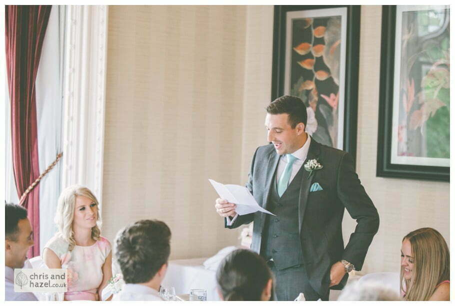 best man wedding speeches documentary Sheffield Wedding Photographer Kenwood Hall Wedding Photography Sheffield by Chris and Hazel Wedding Photography Glen Briddock Emily Shaw