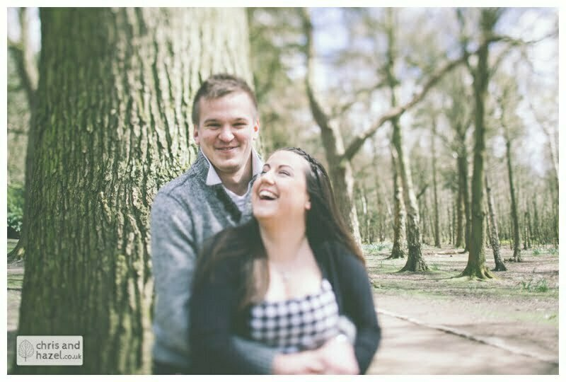 woodland, golden acre ,engagement session, leeds, Chris and Hazel, pre-wedding photography, Paul Standerline, Stevie Pollard,