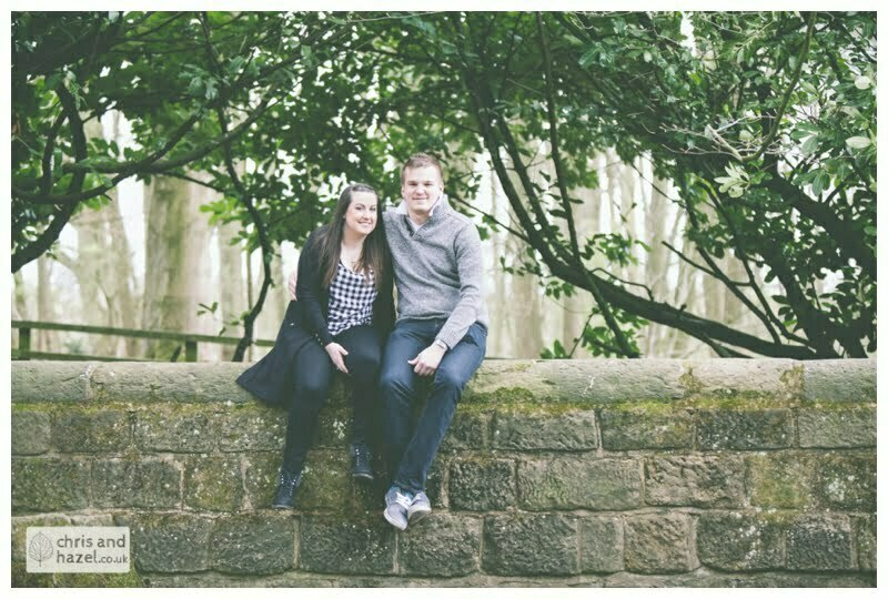 stone, bridge, golden acre ,engagement session, leeds, Chris and Hazel, pre-wedding photography, Paul Standerline, Stevie Pollard,