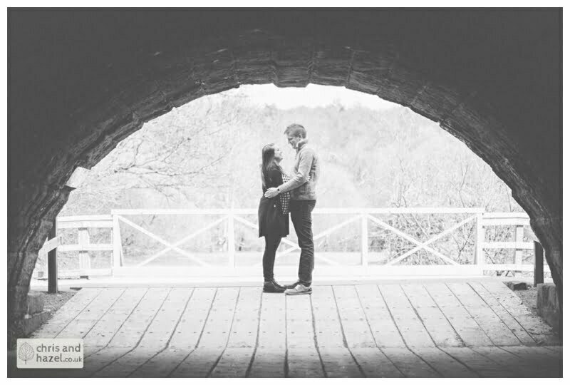 bridge, golden acre ,engagement session, leeds, Chris and Hazel, pre-wedding photography, Paul Standerline, Stevie Pollard,
