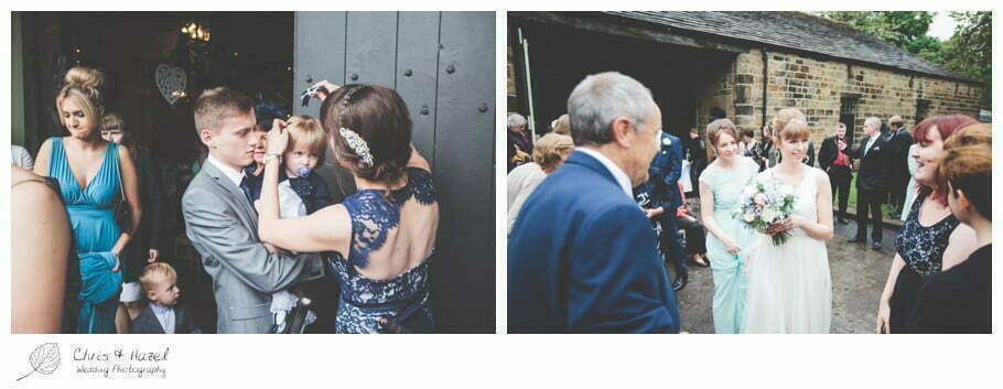 wedding guests, documentary wedding photography, Keighley ,Wedding Photographer, East Riddlesden Hall, Wedding Photography, Chris and Hazel Wedding Photography, Craig beasley, Stephanie Stubbs,