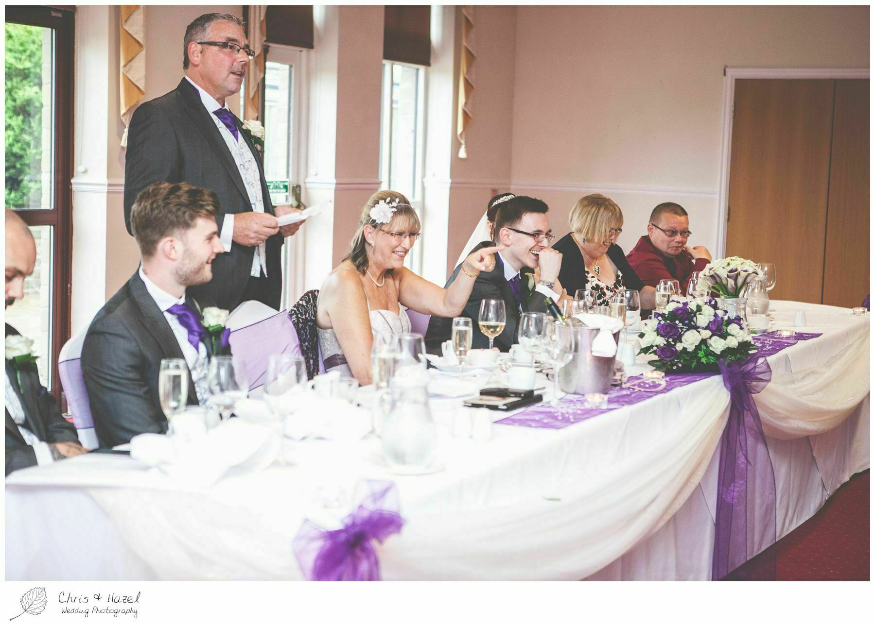father of groom speech, bagden hall wedding venue, documentary wedding photography, denny dale, huddersfield, Wedding Photographer, Bagden Hall, Wedding Photography, Chris and Hazel Wedding Photography, Alex tomenson, Vicky hunt