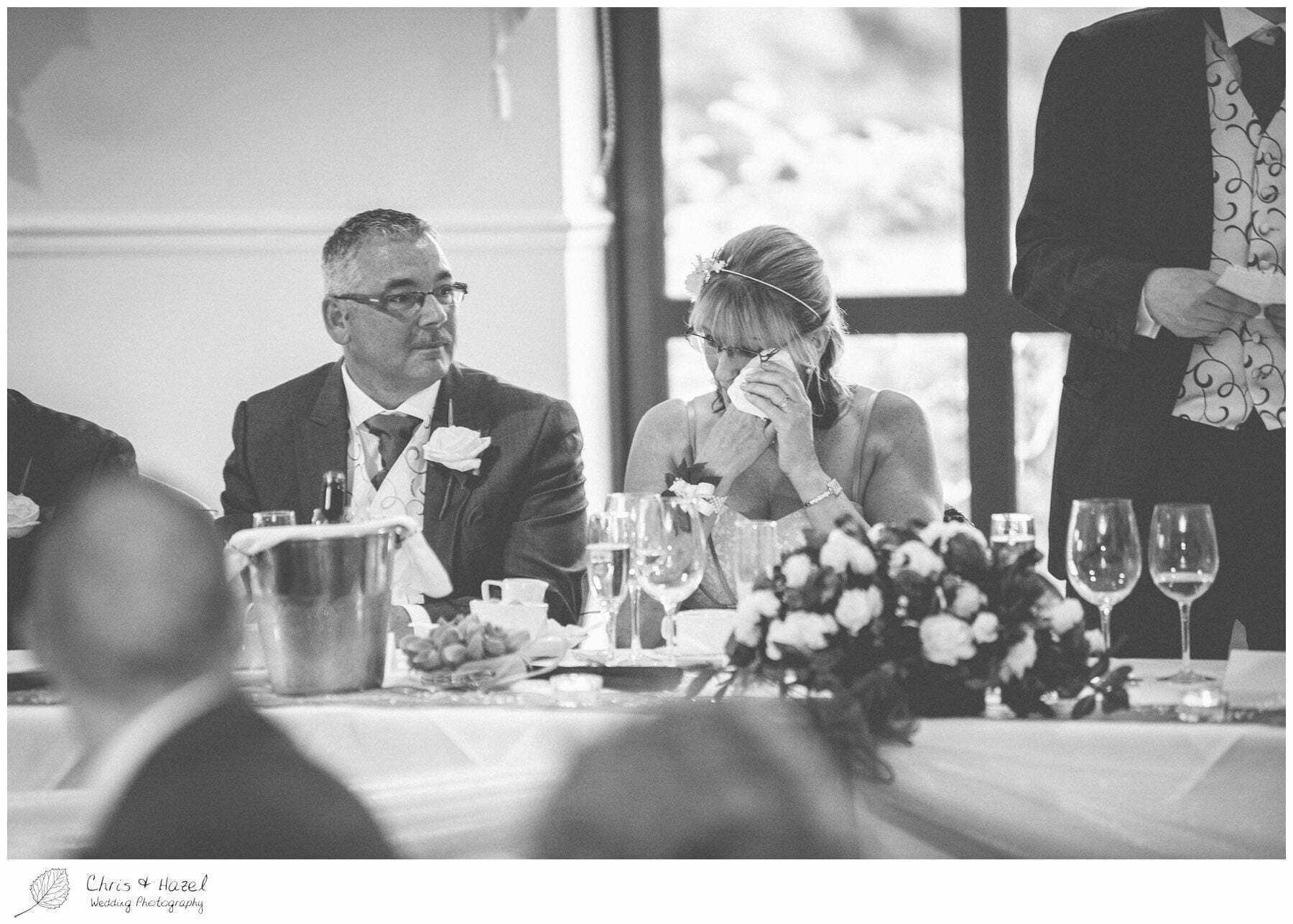 groom speech reaction, bagden hall wedding venue, documentary wedding photography, denny dale, huddersfield, Wedding Photographer, Bagden Hall, Wedding Photography, Chris and Hazel Wedding Photography, Alex tomenson, Vicky hunt