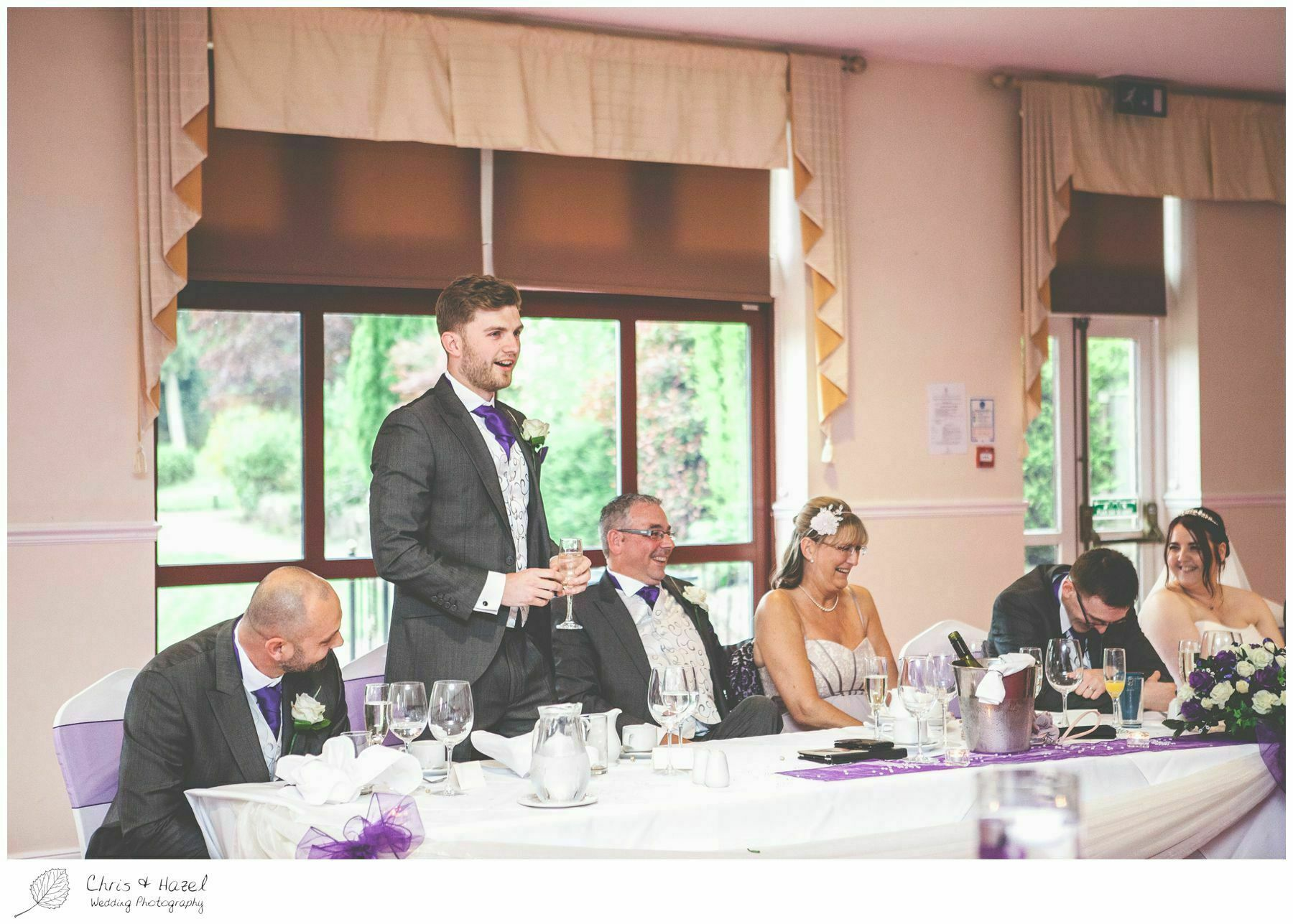 best man wedding speech, bagden hall wedding venue, documentary wedding photography, denny dale, huddersfield, Wedding Photographer, Bagden Hall, Wedding Photography, Chris and Hazel Wedding Photography, Alex tomenson, Vicky hunt