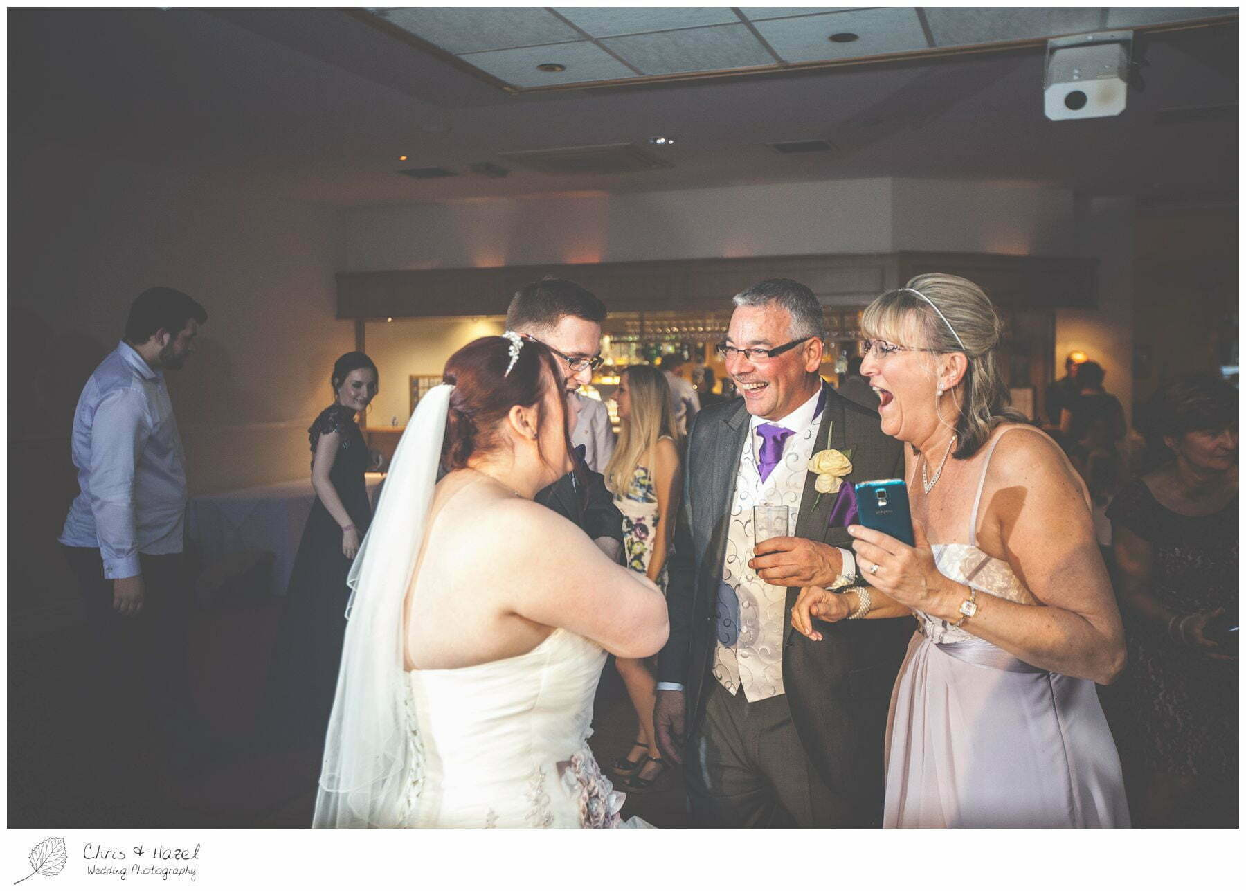 wedding guests dancing, bagden hall wedding venue, documentary wedding photography, denny dale, huddersfield, Wedding Photographer, Bagden Hall, Wedding Photography, Chris and Hazel Wedding Photography, Alex tomenson, Vicky hunt