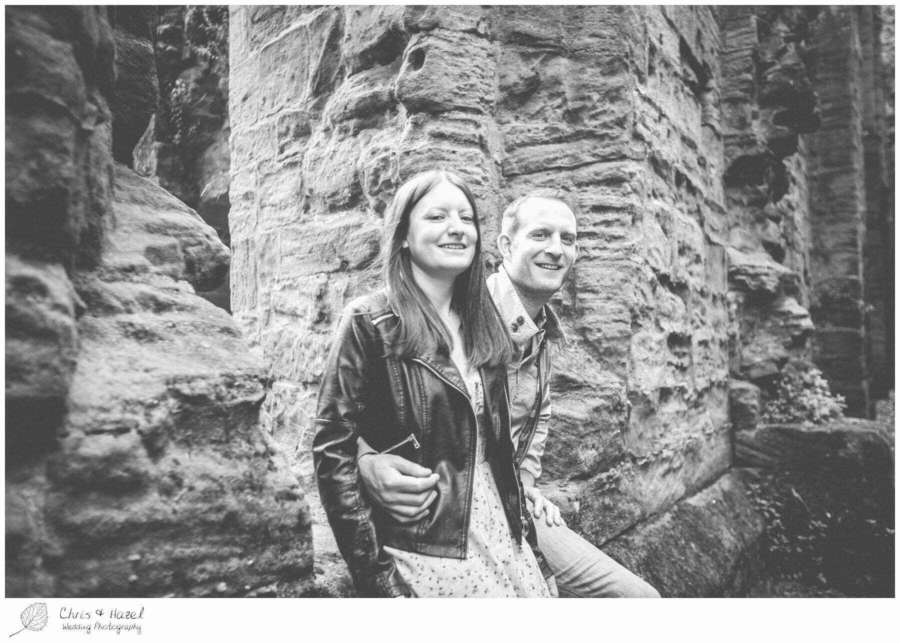 North Yorkshire, Wedding Photographer, Spofforth castle, engagement, Photography, Yorkshire, Chris and Hazel Wedding Photography, Scott Dixon, Caroline Ellis