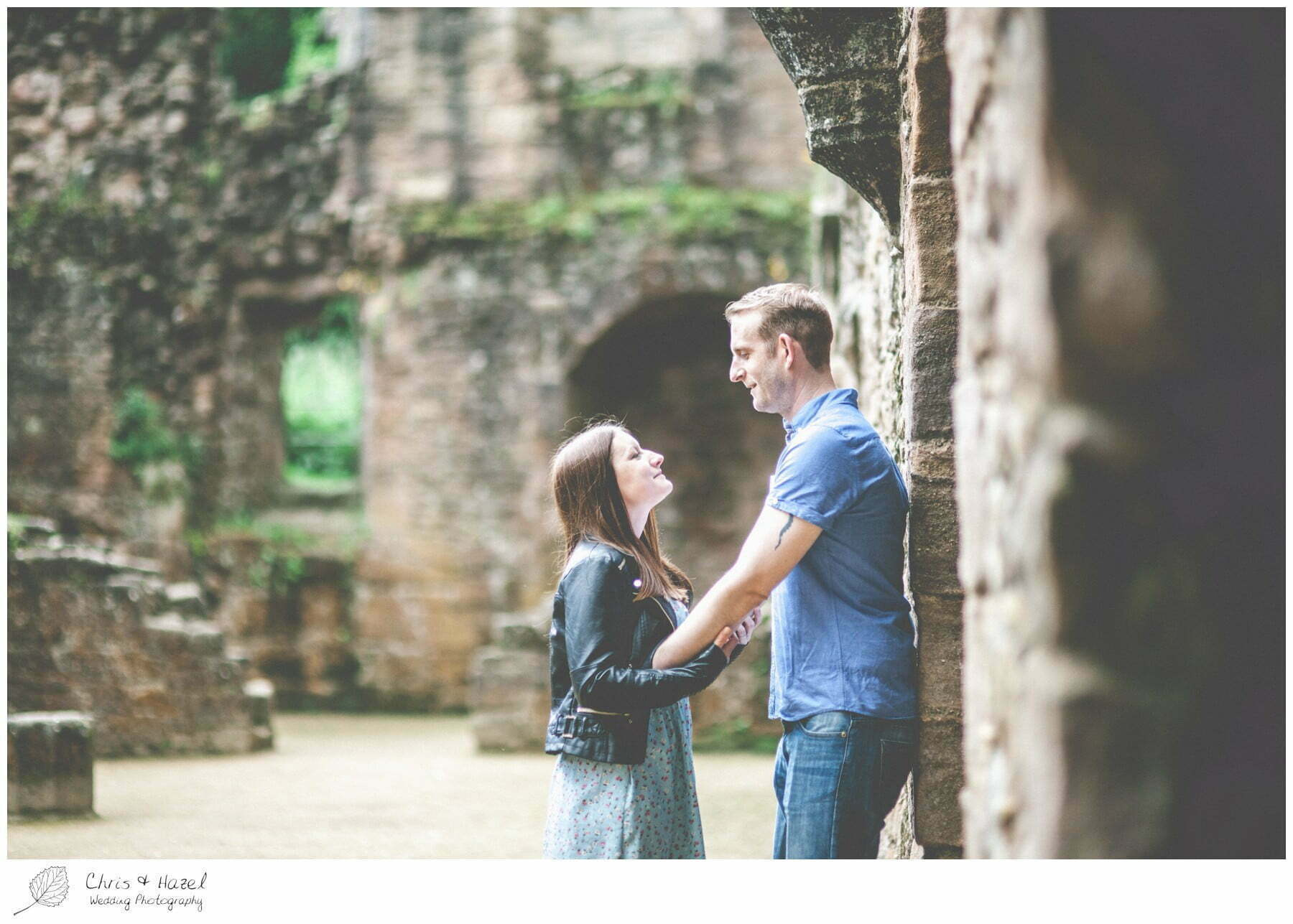 North Yorkshire, Wedding Photographer, Spofforth castle, engagement, Photography, Yorkshire, Chris and Hazel Wedding Photography, Scott Dixon, Caroline Ellis