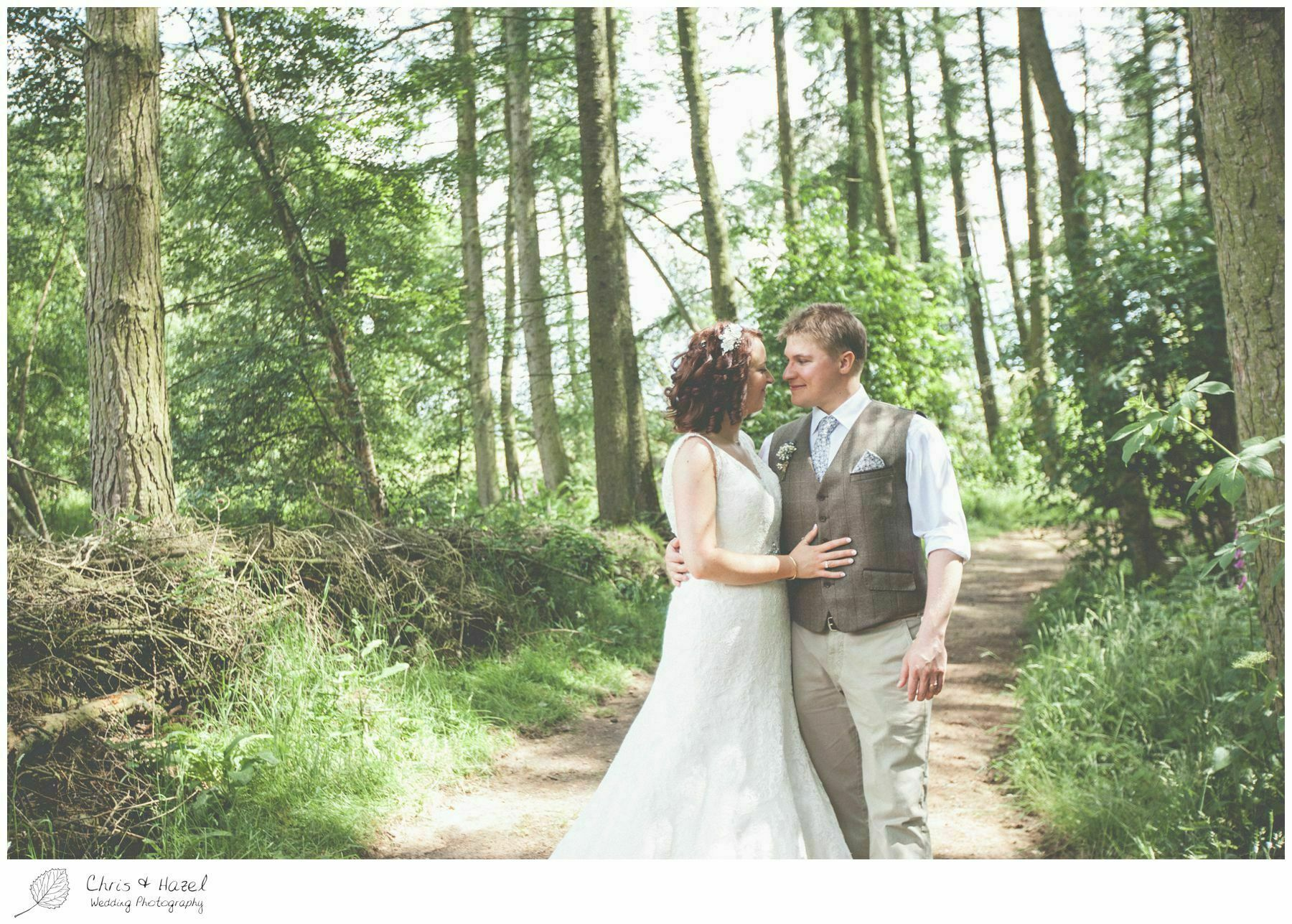 wedding bride and groom photographs portraits woodland, eco wedding, wedding, Eccup Wedding Photographer, Lineham Farm, Wedding Photography Leeds, Chris and Hazel Wedding Photography, Richard Wyatt, Laura Kelly