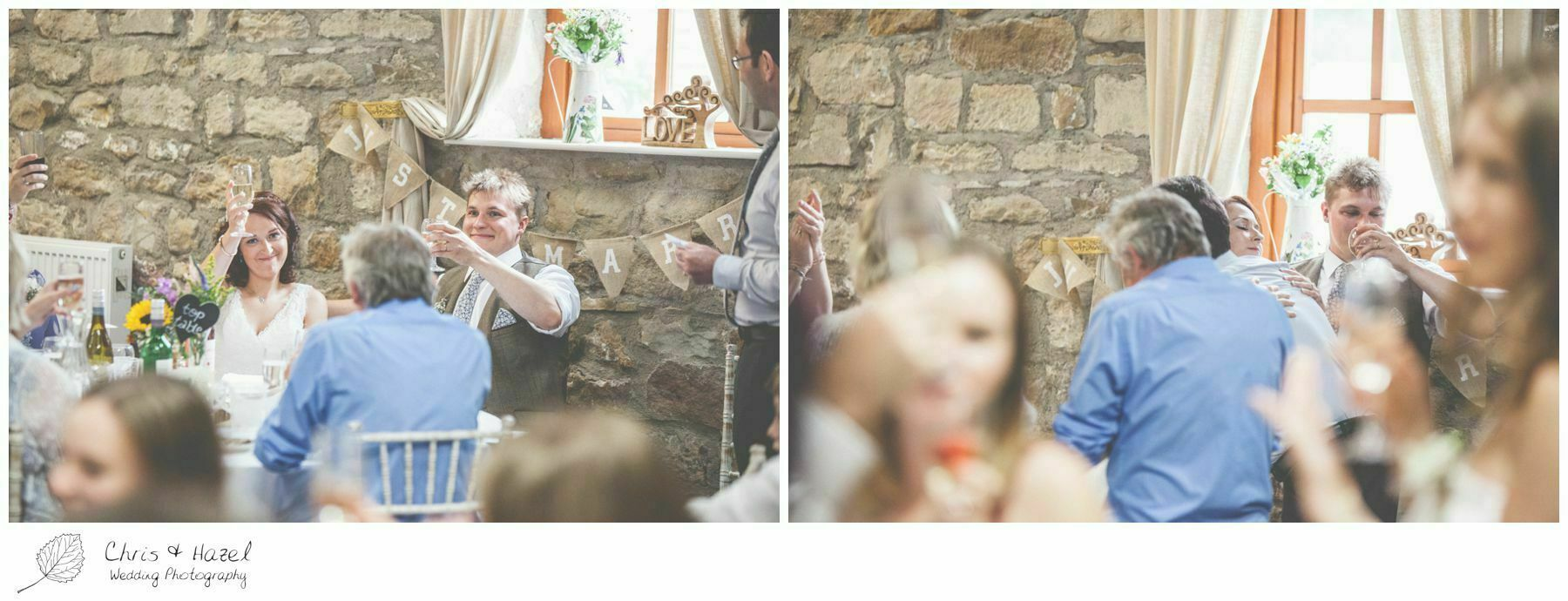 father of bride speech, wedding breakfast barn, wood wedding theme, eco wedding, love letters, wedding, Eccup Wedding Photographer, Lineham Farm, Wedding Photography Leeds, Chris and Hazel Wedding Photography, Richard Wyatt, Laura Kelly