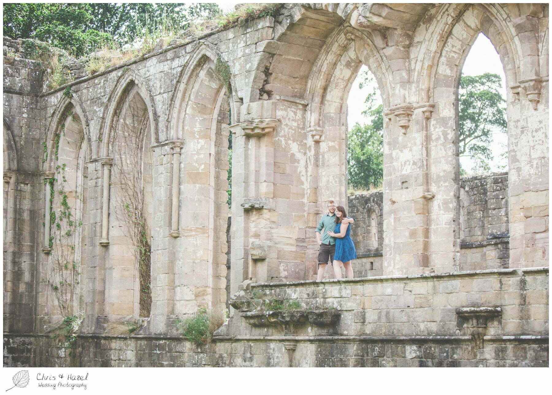 abbey ruins, engagement, dogs, Fountains abbey national trust, Rippon, Fountains Abbey, Pre Wedding Photography Yorkshire, Chris and Hazel Wedding Photography, Sam Nicholson, Emily Nunwick,