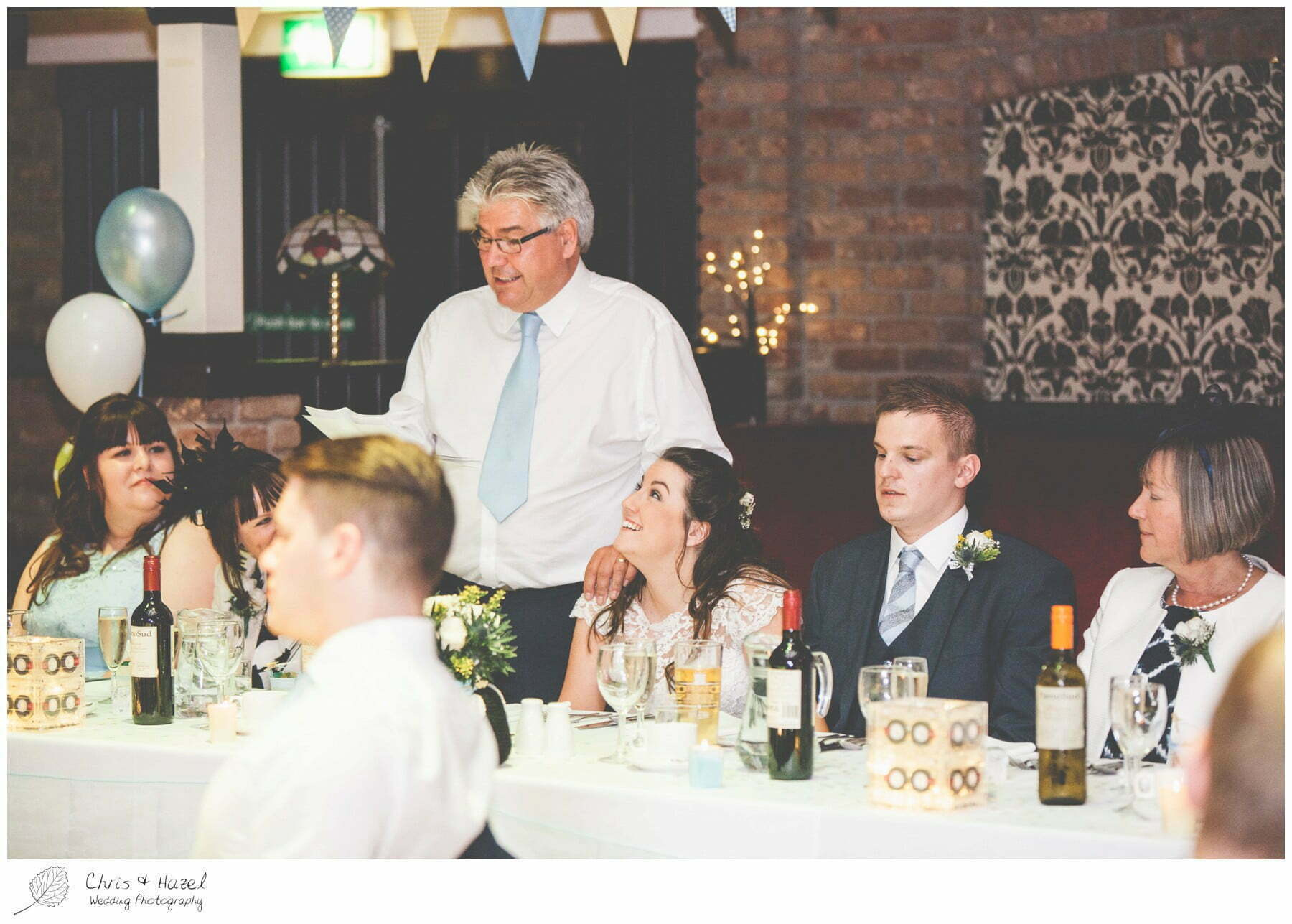 father of bride wedding speech, wedding, south milford Wedding Photographer, the engine shed, wetherby wedding venue, Wedding Photography wetherby, Chris and Hazel Wedding Photography, stevie pollard, stevie standerline, paul standerline,