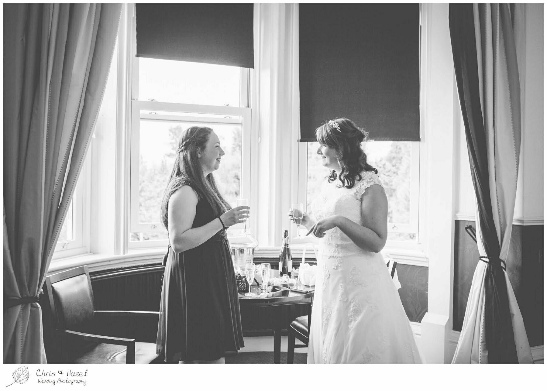 bridal preparations, bridal party getting ready, Ilkley wedding photographer, Ilkley wedding photography, The Craiglands hotel wedding photography, west Yorkshire wedding photography, chris and hazel wedding photography, emily nunwick, sam nicholson, emily nicholson,