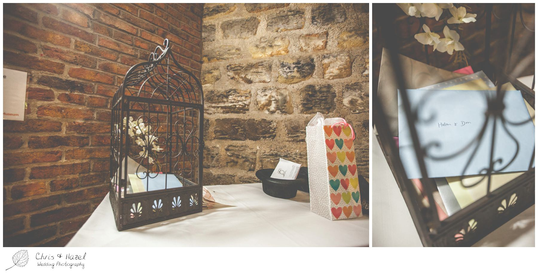 alternative wedding present table, alternative wedding postbox, wedding birdcage for cards and presents, wedding breakfast inside york castle museum, wedding breakfast on york castle museum victorian street, wedding reception on york castle museum victorian street, inside york castle museum, documentary wedding photography, york castle museum, york castle museum wedding, york castle museum wedding photography, york castle museum wedding photographer, york castle museum wedding day, don hayes, , helen hayes, chris and hazel wedding photography, chris & hazel,