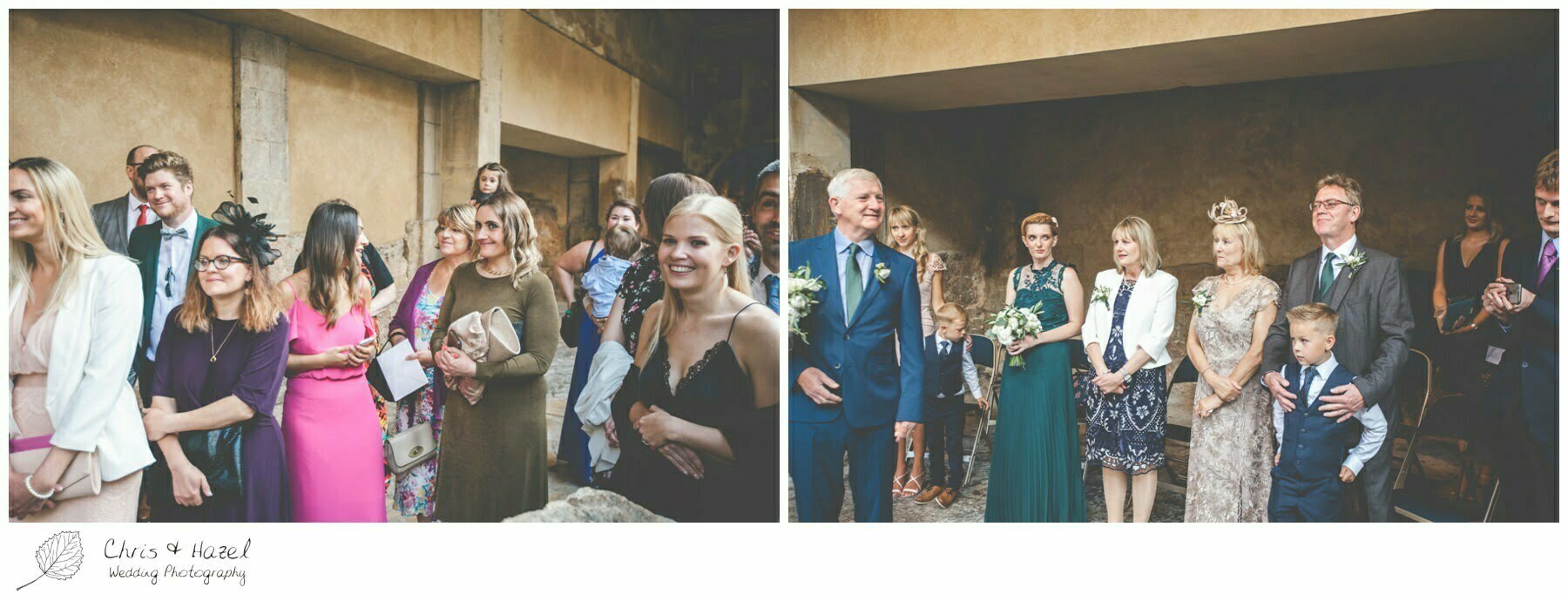 Ceremony Wedding Guests at Roman Baths Pump Rooms, The Roman Baths Wedding Photography, Roman Baths Wedding Photographer, Wedding in Bath, Bath Wedding Day, documentary wedding photography, Chris and Hazel Wedding Photography Bath, Andy Frost Sian Upson