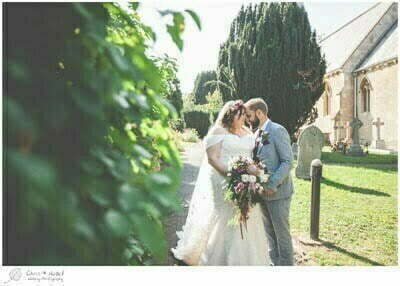 Thumbnail Chloe and Ian, Wiltshire Wedding Photography