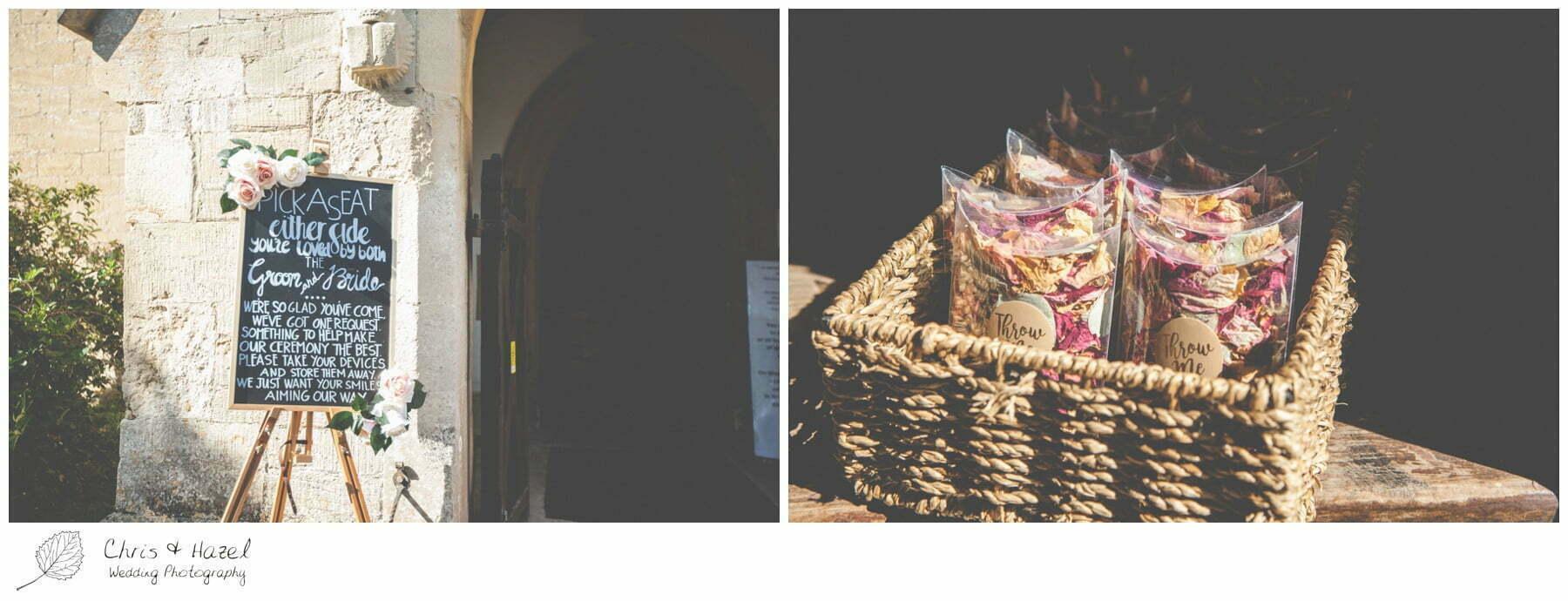 Confetti, Wedding at Hilperton Church, St Michael & All Angels' Church, Wedding Photography, Wiltshire Wedding Photographer Trowbridge, Chris and Hazel Wedding Photography